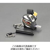 エスコ(esco) 25mm×5.5mメジャー(ホルダー・安全ロープ付) 25mm×5.5m EA720CS-10 1セット(2個) (直送品)
