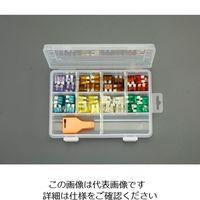 エスコ(esco) 3A-30A 自動車用平型ヒューズセット 1セット EA758ZS-10(直送品)
