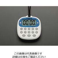 esco(エスコ) 77x81x16mmタイマー(デジタル) EA798C-6AA 1セット(3個) (直送品)