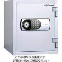エスコ(esco) 352x454x 412mm 二重扉耐火金庫 1台 EA961KD-12(直送品)