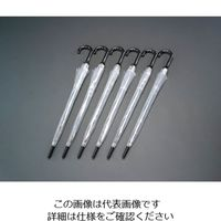 エスコ(esco) 650mmビニール傘(6本) 1セット(12本:6本×2袋) EA995AA-131B (直送品)