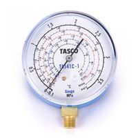 イチネンTASCO 普通連成計 R407C高精度連成計 検査合格証明証付 TA141C-1 1セット(2個) (直送品)