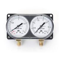 イチネンTASCO 普通型圧力計 モニターゲージキット(ヒートポンプタイプ) TA147WH 1個 (直送品)