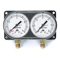 イチネンTASCO 普通型圧力計 モニターゲージキット(R410Aヒートポンプタイプ) TA147XH 1セット (直送品)