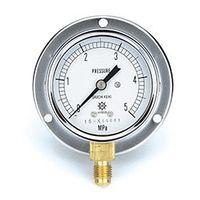 イチネンTASCO 普通型圧力計 3.5MPa1/4F60φゲージ TA148F-135 1個 (直送品)