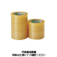 イチネンTASCO ビニールテープ 梱包粘着テープ5巻入 TA976KA 1セット(500m:250m×2パック)(直送品)