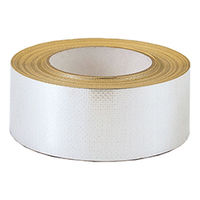 イチネンTASCO 気密防水テープ アルミガラスクロス粘着テープ100mm×30m TA978RC-100E 1個(30m)(直送品)