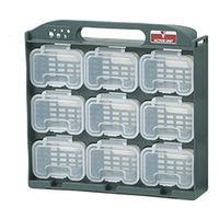イチネンTASCO 工具 パーツボックス パーツケース(9パーツ) TA981MB 1セット(2セット)(直送品)
