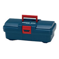 イチネンTASCO プラスチック工具箱 工具箱中皿付 TA982RA-1 1セット(2個)(直送品)