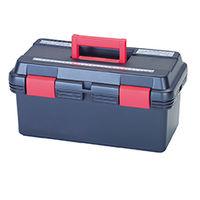 イチネンTASCO プラスチック工具箱 工具箱425×235×205mm TA985AR 1セット(2個)(直送品)