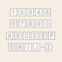 トーアン 測量用品 吹付バネ材小 数字英字記号 170×150 29-301 1枚 (直送品)