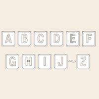 トーアン 測量用品 吹付バネ材小 A〜Z(26枚組)170×150 29-304 1組(26枚) (直送品)