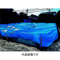 トーアン ブルーシート 5.4m×7.2m 43-193 1セット(2枚)(直送品)