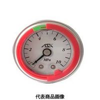 カラーリング付グリセリン圧力計 OPG-DT-R1/4-39×4MPa-S-CR OPG-DT-R1/4-39x4MPa-S-CR (直送品)