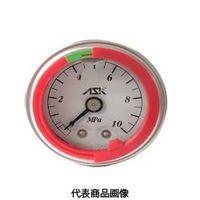 カラーリング付グリセリン圧力計 OPG-DT-R1/4-39×6MPa-S-CR OPG-DT-R1/4-39x6MPa-S-CR (直送品)