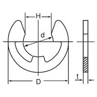 輪 止め e 型 E型止め輪装脱着工具 リングセッター/リングリリーサー