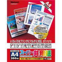 ナカバヤシ OA共用紙/A4/200枚 MPP-A4-E20 10個 (直送品)