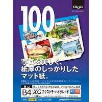 ナカバヤシ インクジェット用紙/B4/100枚/エキストラハイグレード JPXG-B4N 10個 (直送品)