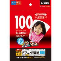 ナカバヤシ デジカメ印画紙/強光沢はがき100枚 JPSK-PC-100G 10個 (直送品)
