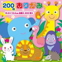 トーヨー 徳用折紙15.0cm 200枚 23色調 090203 3冊(1冊200枚 23色調) (直送品)