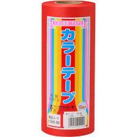トーヨー 紙テープ 10P 赤 113001 2パック(1パック10P) (直送品)