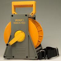 ヤマヨ測定機 リボンロッド専用ケース 120M 縦284mm×横174mm×幅173mm 遠近距離両用 1個(取寄品)