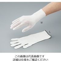 マックス(MAX) クリーンルーム用インナー手袋 クリーンパック L ロング 10双入 MX386-CP-L 1袋(10双) 3-5499-02 (直送品)