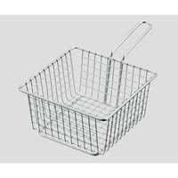 丸山ステンレス 小型ワイヤーバスケット 140×140×75mm 1個 3-6213-02 (直送品)