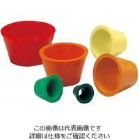アラム(ARAM) ロートアダプター カラーゴムアダプター 6色セット 1組(6個) 6-507-01 (直送品)