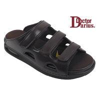 ドクターサンダル ドクターダリウス DD00102 ブラウン L 1足 (直送品)