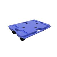ナンシン 樹脂連結ドーリー150kgタイプ PD-406-3E 1セット(4台)(直送品)