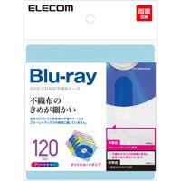 エレコム Blu-ray可不織布 タイトル 60枚入 120枚収納 5色 CCD-NIWB120ASO (直送品)