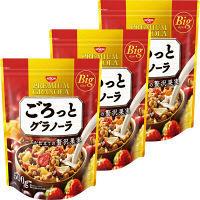日清シスコ ごろっとグラノーラ メープル仕立ての贅沢果実 500g 1セット(3袋)
