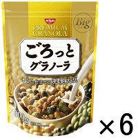 日清シスコ ごろっとグラノーラ きなこ仕立ての充実大豆 500g 1セット(6袋)