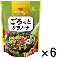 日清シスコ ごろっとグラノーラ いちごと小豆の宇治抹茶 500g 1セット(6袋)