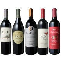 カリフォルニア赤ワイン5本セット W-ST17031796 1セット (直送品)