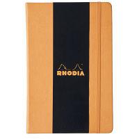 ロディア WEBNOTEBOOK A4 横罫オレンジ cf118368 1冊 クオバディス (直送品)