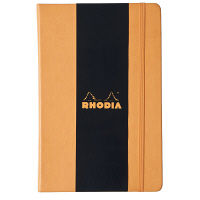 ロディア WEBNOTEBOOK A4 ドットオレンジ cf118868 1冊 クオバディス (直送品)