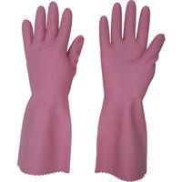 ビニスター まとめ買い 塩化ビニール手袋 トワローブフルールあつ手 ピンク S (20双入) 704-S 780-9239(直送品)