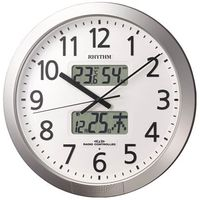 リズム時計(Rhythm Watch) プログラムオフィス404 4FN404SR19 1個 787-9580 (直送品)