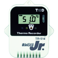 ティアンドデイ(T&D) おんどとり 小型防水データロガー 温度1ch(センサ外付) TR-52I 1台 819-5877 (直送品)