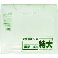 日本サニパック サニパック E12F業務用ポリ袋特大300L相当透明 10枚 E12F-CL 1袋(10枚) 781-0636(直送品)