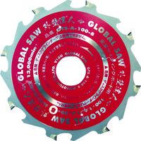 モトユキ グローバルソー 窯業サイディングボード用チップソー 外壁達人 GTS-A-100-8 1枚 827-5687(直送品)