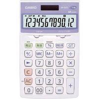 カシオ計算機(CASIO) 電卓(抗菌、SIAA登録モデル) JW-122CL-N 1台 788-6471 (直送品)