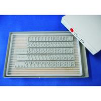 山崎産業(YAMAZAKI) テクノマーク 活字YC-10(数字セット) K526 1箱(1セット) 819-2197 (直送品)