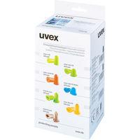UVEX(ウベックス) 耳栓 エグザクトフィットディテクタブル 交換プラグ(1箱400組入) 2124013 1箱(400組) 818-7877(直送品)