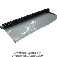 明和グラビア 機能透明フィルム防炎 130cm×30m×0.3mm厚 MGKB-1330 1巻 819-6012 (直送品)