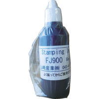 山崎産業(YAMAZAKI) テクノマーク インクFJ900黒1リットル IFJ900-1 1本 819-2228 (直送品)