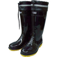 トラスコ中山(TRUSCO) TRUSCO 耐油安全ブーツ フード付 3L 黒 TSBF-3L-BK 1足 818-9527(直送品)