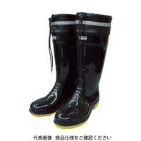 トラスコ中山(TRUSCO) TRUSCO 耐油安全ブーツ フード付 L 黒 TSBF-L-BK 1足 818-9525(直送品)